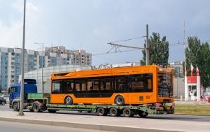 До конца месяца в Самару планируют доставить 22 новых низкопольных троллейбуса.