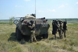 В Самарской области оперативный штаб провел тренировку спецподразделений силовых ведомств