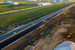 Завершается строительство транспортных развязок на примыканиях к ОЭЗ Тольятти