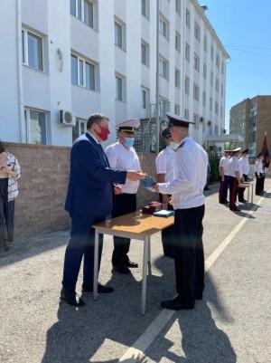 Сегодня на плацу собрались33 кадета – выпускника.