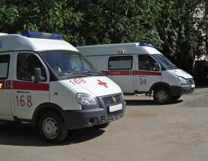 В Самаре на Московском шоссе «скорая» столкнулась с иномаркой