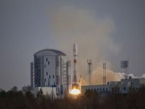 Установленные на I и II ступенях ракеты-носителя «Союз-2.1б» двигателиРД-107А/РД-108А отработали штатно.