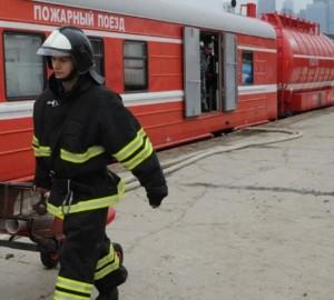 Зона обслуживания пожарного поезда Самара составляет порядка 200км пожелезной дороге общего пользования.