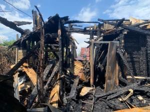 Для ликвидации пожара привлекались 36 человекличного состава и 9 едиництехники.