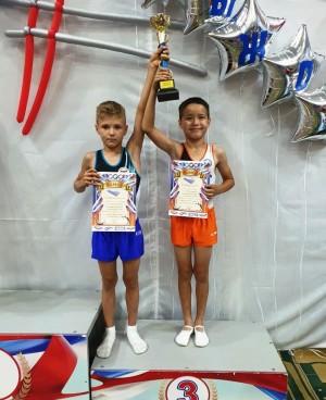 Самарские спортсмены Тимур Трегулов и Максим Дмитриев заняли 3 место.