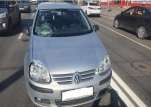 В Самаре водитель сбил женщину-пешехода