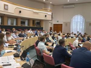 Дмитрий Богданов представил законопроект о снижении ставок УСН на комитете по бюджету Губдумы