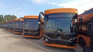 В Самару поступили 22 новых троллейбуса «Адмирал»
