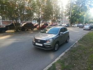 В Самаре легковушка сбила мальчика-пешехода