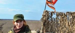 Катя Катина - военкор агентства News Front, с 2014 года освещала события в Донбассе.