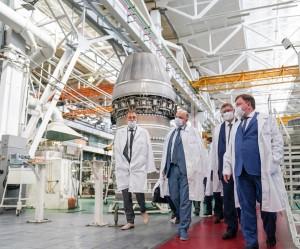 В ходе встречи были рассмотрены программы производства и ремонта двигателей «НК» для газовой отрасли и технического развития изделий для газоперекачивающих агрегатов.