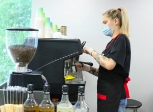 В офисах Сбера в Самаре теперь можно купить кофе