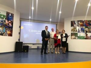 Руководитель департамента вручил государственные награды Самарской области и награды Губернатора Самарской области.