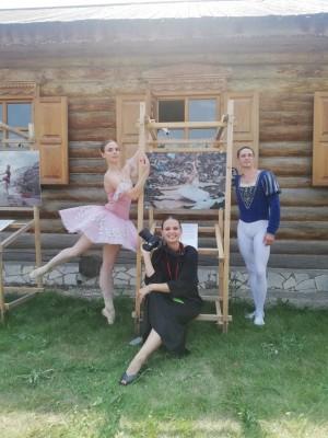 Украшением «Чистого Репина» стал социальный проект фотографа из Санкт-Петербурга Ирины Яковлевой «LE SOUFFLE» (Дыхание).