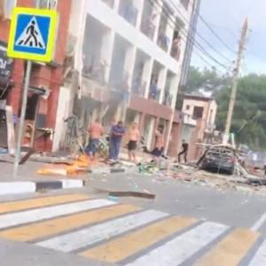 Взрыв в частной гостинице в Геленджике: есть погибший