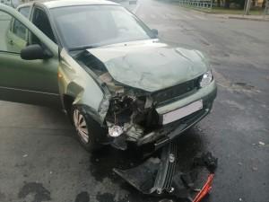Две автомобилистки столкнулись в Сызрани: четверо пострадавших