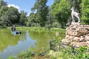 В Самаре очистят озеро очистке в сквере «Родничок Надежды»