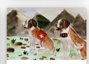 Жители Самарской области среди самых активных участников конкурса рисунков о фронтовых собаках