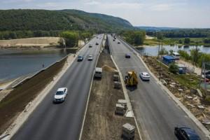 Завершены основные работы по реконструкции старого моста в составе автомобильной дороги Волжский – Курумоч – «Урал».