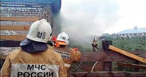 Совместно с хозяевами фермы пожарными было эвакуировано 70 голов крупного рогатого скота.
