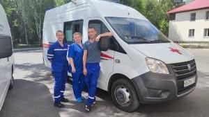 Сотрудники скорой помощи Новокуйбышевска помогли потушить пожар