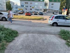 В Тольятти молодой водитель сбил велосипедиста