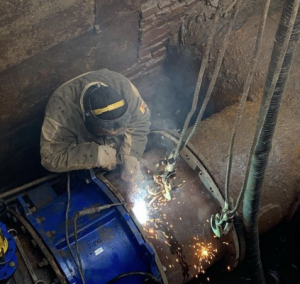 Всвязи со строительствоммостового перехода «Фрунзенский».