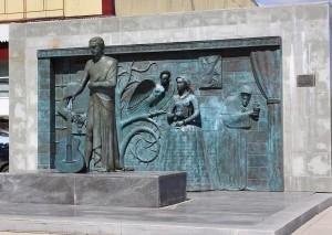 В Самаре благоустроят территорию, прилегающую к памятнику Владимиру Высоцкому