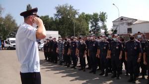 Самарские полицейские отправились на Северный Кавказ