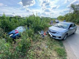 Три человека пострадали в ДТП в Волжском районе