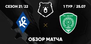 «Крылья Советов» уступили в первой игре сезона