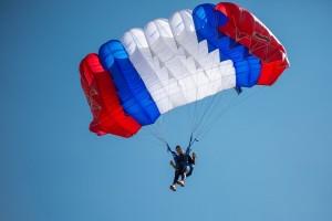 Чемпионат ВС РФ по парашютному спорту проходит в Самаре