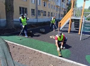 В Самаре в этом году благодаря нацпроекту благоустроят 50 дворовых территорий