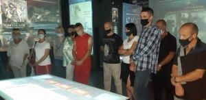 Экскурсию в исторический парк «Россия – Моя история» руководство колонии организовало для двенадцати положительно характеризующихся осужденных.