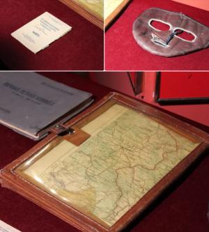 Предметы, переданные родственниками в музей, являются значимыми памятниками военной истории, среди них вещи, служившие летчику в период его боевой службы.