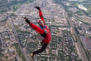 Самарский аэродром «Кряж» впервые принимает чемпионат Вооруженных Сил России по парашютному спорту