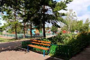 В Кошкинском районе еще 11 дворов стали уютнее и комфортнее благодаря нацпроекту
