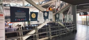 """На самарском ЖД-вокзале разместили выставку """"Монеты славы"""""""