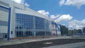 Легкоатлетический манеж в Тольятти достроят к концу года
