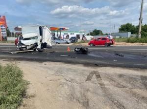 Два водителя госпитализированы.