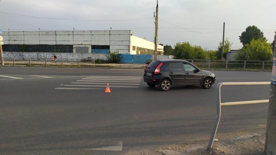 В Кировском районе Самары пенсионер попал под машину