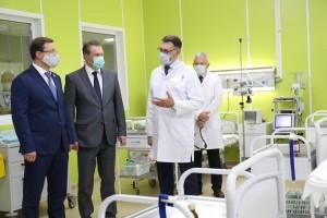 Михаил Мурашко и Дмитрий Азаров открыли в Тольятти инфекционный корпус для лечения пациентов с COVID-19