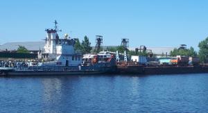 С 4 августа движение грузовой переправы по расписанию.