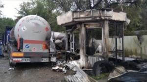 Оператор АГЗС доставлен в одну из больниц города с ожогами различной степени тяжести.