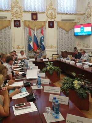 Состоялось заседание антитеррористической комиссии.