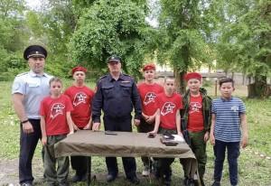 В Самаре для подшефных юнармейцев прошел «День спорта с Росгвардией»