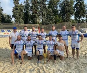 Сборная Самарской области - серебряный призёр Чемпионата России по пляжному регби!