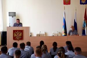 Молодым офицерам предстоит решать комплекс задач, определенных руководством ФСИН России.