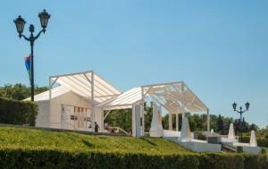 Впервые в его рамках был представлен проект «Резиденции волжских городов».
