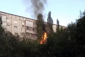 В Тольятти сгорели балконы на четырех этажах на проспекте Степана Разина